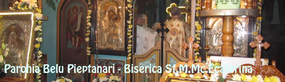 program slujbe biserica Sf Ecaterina