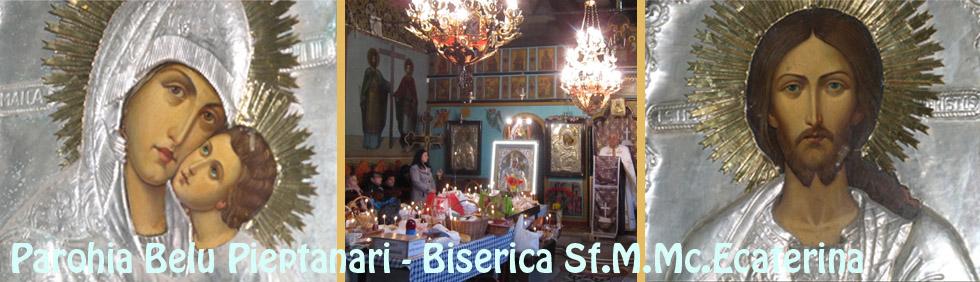 Biserica Sf.Ecaterina - Parohia Belu Pieptanari