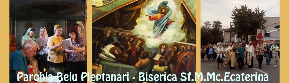 Biserica Sfanta Ecaterina - Parohia Belu Pieptanari