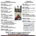 programul de Paste 2018 Biserica Sf Ecaterina - Parohia Belu Pieptanari
